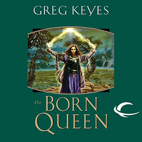 The Born Queen audiobook cover art