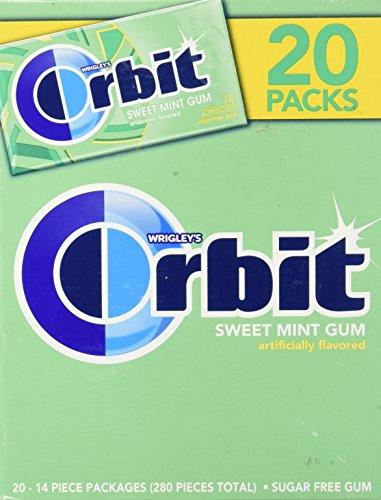 Wrigleys Orbit Sweet Mint Sugar Free Gum
