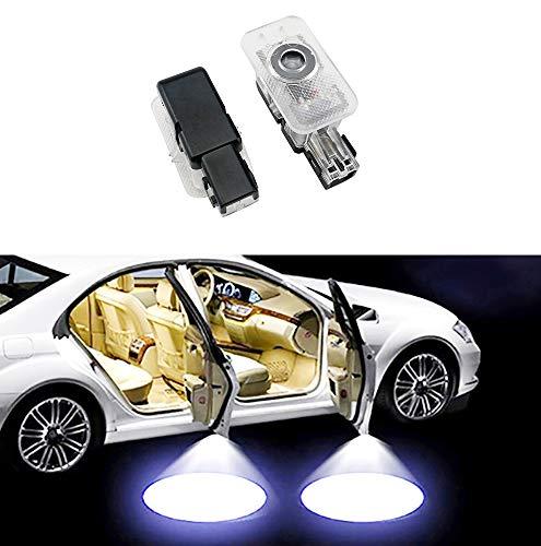 Sunshine Fly Lot de 2 porte de voiture Logo proie ttori voiture portiere Éclairage voiture à LED porte portes débutants Éclairage Projecteur Door Bienvenue Projection lumière