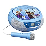 EKIDS FR-430 -CD Boom Box Reine des Neiges, Bleu