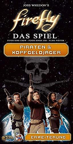 Asmodee Firefly: Piraten & Kopfgeldjäger Brettspiel, Erweiterung