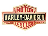Harley-Davidson Distressed Long Bar & Shield Tin Sign 15.5 x 9.5 Inch 2010131