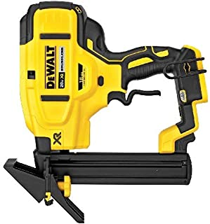 DEWALT DCN682B Narrow Crown Cordless Stapler, 1/4 in, 18 ga, 100, 20 V, Lithium-Ion, Contact Trigger