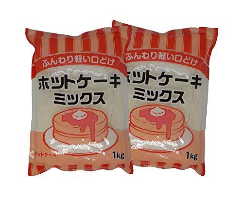 ふんわり軽い口どけ ホットケーキミックス 1�s×2袋(合計2�s)