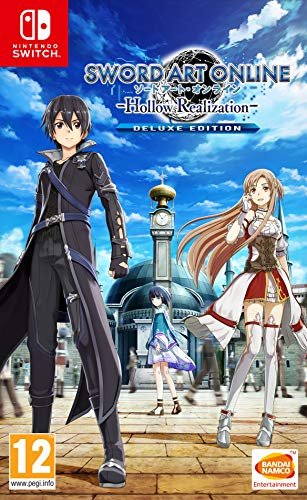 Sword Art Online: Hollow Realisation Deluxe Edition - Nintendo Switch [Importación inglesa]