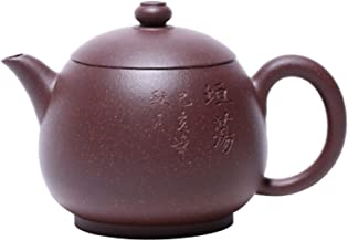 JIAZHOUMA Yixing słynna fioletowa glina dzbanek do herbaty czajnik ręczny Gong Fu czajniczek 145 ml