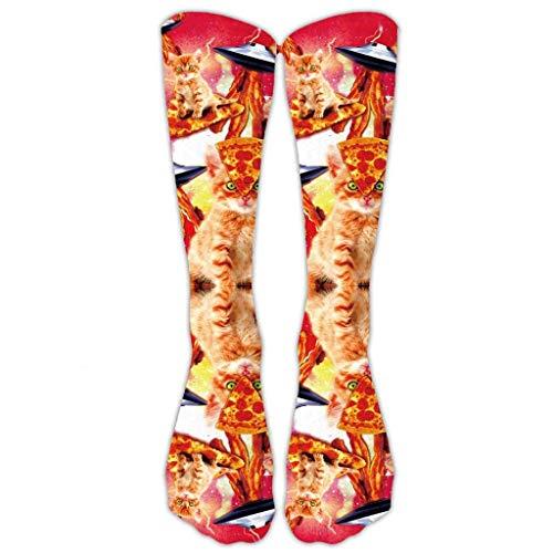 Weihnachten hässliche Socken Santa Elk 3D gedruckt lange Sportsocken weiche gemütliche Kniestrümpfe Xmas Friend Geschenk