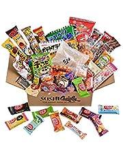 40 Japanse bonbons doos 30 Japanse snacks Plus 10 Japanse KitKat