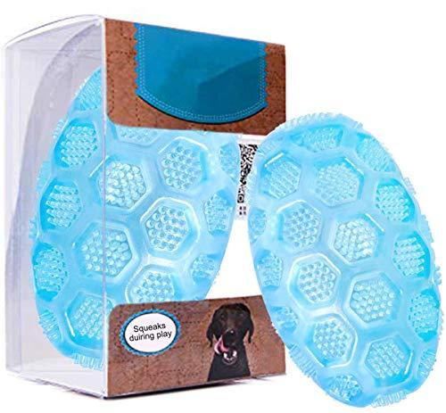 Rocky & Chao Palla per Cani Giocattolo Resistente e Durevole Giocattolo da Masticare per Animali Domestici Giocattolo in...