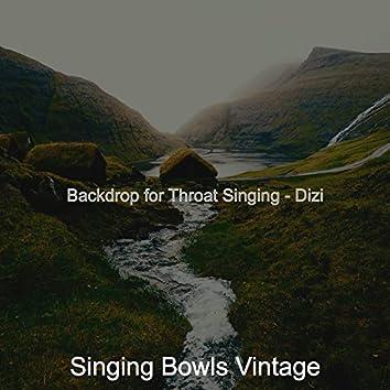 Backdrop for Throat Singing - Dizi