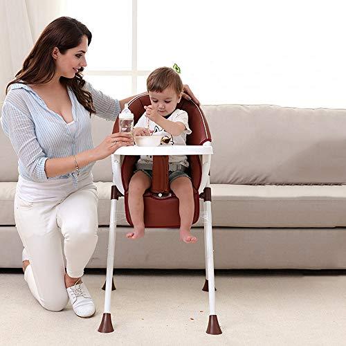 Swttppy Los niños de los niños silla de alimentación Booster bebés y niños pequeños silla alta de bebé cenar soporte de la silla del asiento extraíble comedor bandeja de la cena de mesa 3-en-1 mesa co