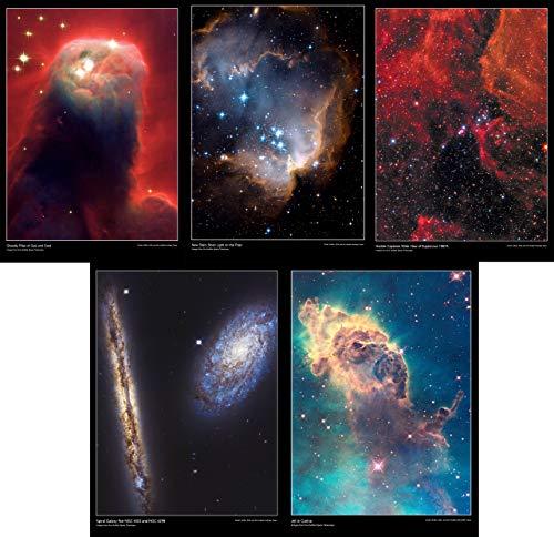 Hubble Teleskop Space Poster A3 (HB3) 5 Stück