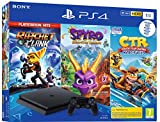 PS4 1 To Crash Team Racing + Spyro + RC Hits - noire