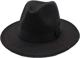 Hat Wool Trilby Hat Size 56-58CM Men Women Wool Fedora Hat With Black Cloth Belt Adult Church Hat Fascinator Hat Fashion Hat