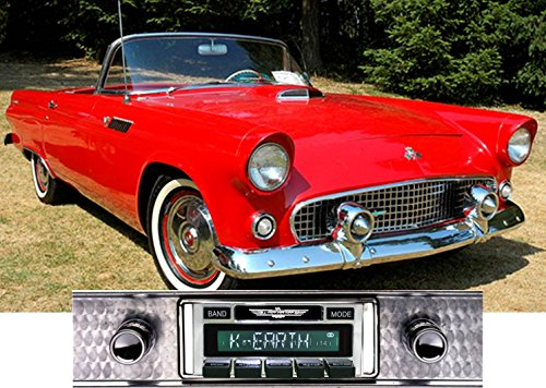 Price comparison product image Custom Autosound Stereo compatible with 1955-1957 Ford Thunderbird,  USA-630 II High Power 300 watt AM FM Car Stereo / Radio