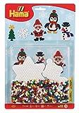 Hama 4202 - Sortiment Weihnachtszeit, ca. 1100 Bügelperlen und 2 Stiftplatten
