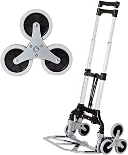 Aluminum Allo Foldin Foldable Shopping Trolley Bag on Wheels With Anti Puncture Silent Wheel and 68 kg Capacity,Silver Gro...