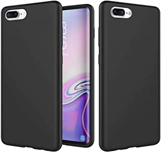 CRABOT Compatible con iPhone 7 Plus/iPhone 8 Plus Funda Silicona Líquida Parachoques de Goma de Gel Delgado A Prueba de Ch...