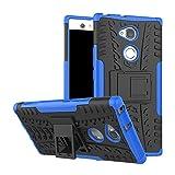 Sony Xperia XA2 Ultra Funda, FoneExpert® Heavy Duty silicona híbrida con soporte Cáscara de Cubierta Protectora de Doble Capa Funda Caso para Sony Xperia XA2 Ultra