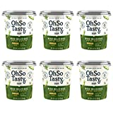 OhSo Tasty Soup, Low Carb, Vegan Gluten-Free, Low-Sodium, Ready In 1-Minute, Pack of 6 (Miso Delicious, Pack of 6)