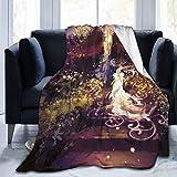 Flanell-Fleece-Bettdecke, leicht, gemütlich,...