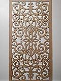 Laserkris, griglia per schermare il radiatore a parete, pannello decorativo in MDF perforato (4x 2) G1.