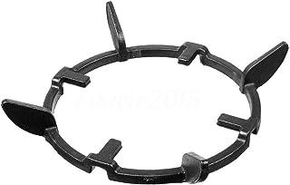 heaven2017 Black Cast Iron Stove Trivets Iron Wok Pan Support Rack Stand Universal