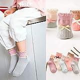 FENGYUN 10 calcetines para niños de cuatro estaciones, calcetines de tubo de algodón peinado, para hombres y niños, calcetines de bebé, E (10 pares), XL (18-21cm) about 9-12 years old
