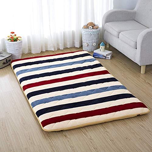 Alfombrilla de tatami para dormir, colchón de futón de suelo japonés, colchón...