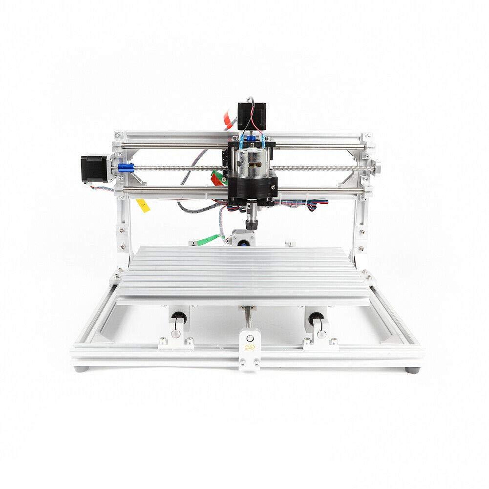 Mini CNC 1018 Router Engraver PVC Milling Engraving Machine GRBL Control 12W 12VDC for CNC 1018