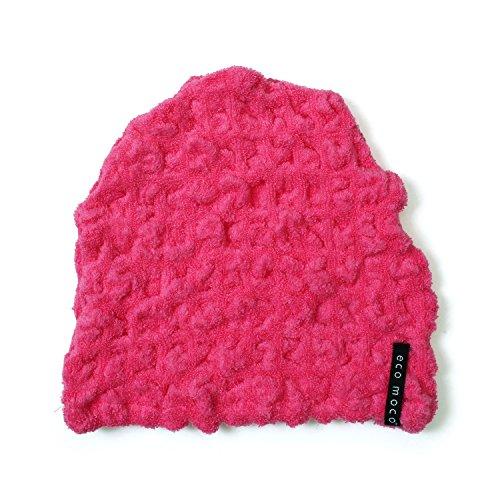 ecomoco モコモコキャップ 32.Jelly pink MOCA-32