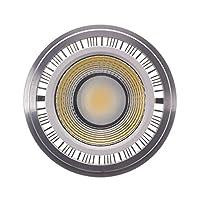 LEDコーン電球 スポットライト9W LEDのCOBスポットライトGU10 G53 AR111 AR111 COB 85-265V 屋外LED電球 (Size : Natural white 4000K)