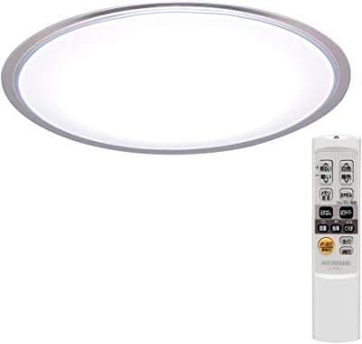 【セット買い】アイリスオーヤマ LEDシーリングライト 8畳 調光 調色 5.11 音声操作 ウッドフレーム ナチュラル リモコン付き CL8DL-5.11WFV-U & LED シーリングライト 調光 調色 タイプ ~8畳 CL8DL-5.0CF