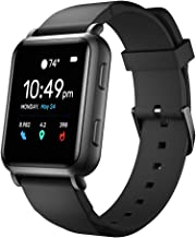 LEFIT GTM Smart Watch with Built-in GPS, Healt&Fitness Tracker 24/7 Heart Rate Monitor, Full Touch Screen, Sleep Monitor w...