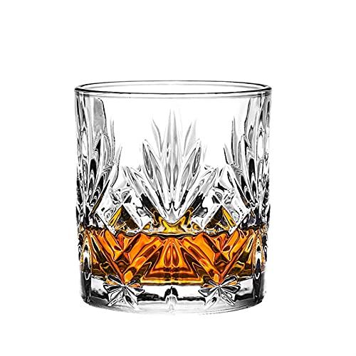 Casual Copa De Vidrio 300ML Cerveza Vino Rojo Whisky Scotch Bourbon Frío Agua Leche Lanzamiento Home Bar 8.3X8.9CM MUMUJIN