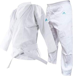 adidas Adistart - Uniforme de Karate Unisex Juvenil 7oz Artes Marciales Estudiantes Gi