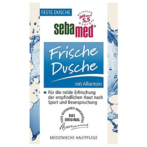 SEBAMED Frische Dusche Feste Dusche, ohne Mikroplastik, ohne Mineralöle, hohe Ergiebigkeit, 100 g