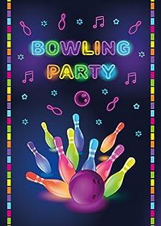 Einladungskarten bowling kostenlos drucken