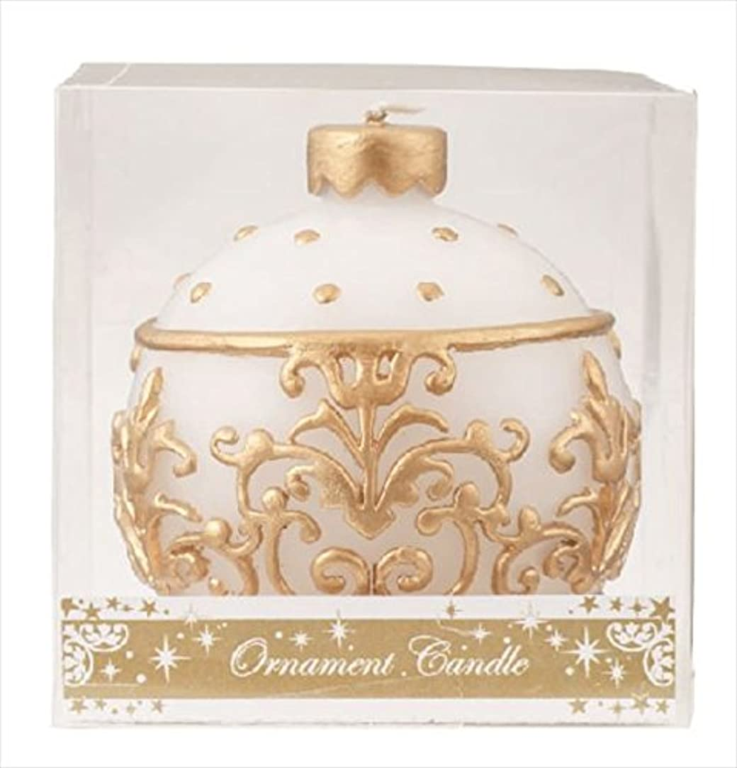 カリキュラム結核羊のカメヤマキャンドル(kameyama candle) オーナメントキャンドル 「 ホワイト 」