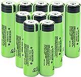 Las Baterías De Iones De Litio D De 3.7V 3400 Mah Ncr18650 Pueden para Pilas Protegidas De PCB De Linterna De Banco De Energía-10 Piezas