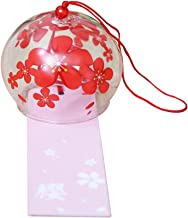 Japanese Wind Bell Wind Chimes Handmade Glass Wind Chimes Rose