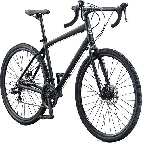 Schwinn Sporterra Adventure Adult Gravel Bike, 14 Speeds, 700c Wheels, Light Weight Aluminum Frame, Black