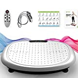 JUFIT Vibration Plate Whole Body Fitness Machine Vibration Plates Fit...