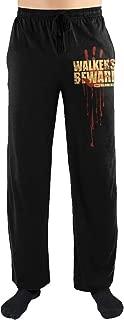 The Walking Dead Walkers Beware Print Men's Loungewear Lounge Pants