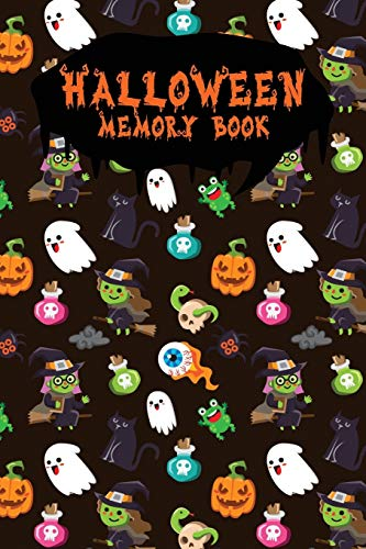 Halloween Memory Book: An Activity Book for Kids to Record Their Halloween Day   Coloring   Drawing   Journaling   Halloween Mix Frog (Trick or Treat, Band 20)