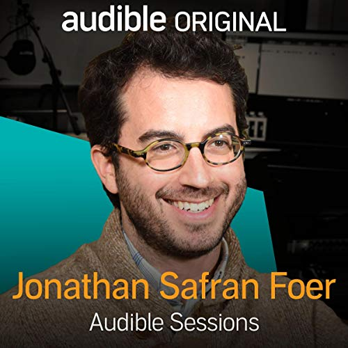 Jonathan Safran Foer audiobook cover art