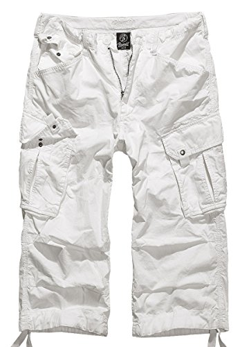 Brandit Columbia Mountain 3/4 Shorts, Gr. M, Weiss
