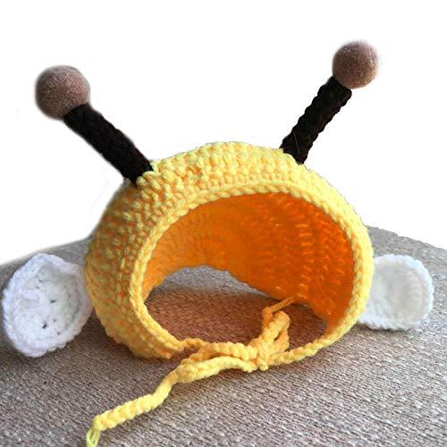 WANGSHI Little Bee Pet Hat Cat Hat Cat Dress Up Productos