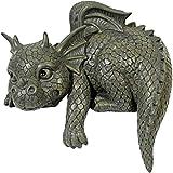 Statue de jardin dragon chiffre gargouille