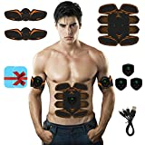 Abs Stimulator Muscle Trainer Ultimate Abs Stimulator Ab Stimulator for Men Women Abdominal Work Out Ads Power Fitness...